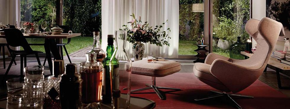 fauteuil grand repos van vitra postma interieur. Black Bedroom Furniture Sets. Home Design Ideas