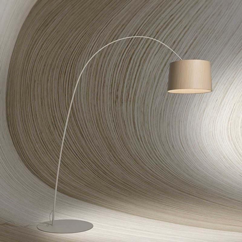 Vloerlamp Twiggy Wood van Foscarini