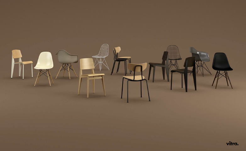 Vitra Dining Chairs